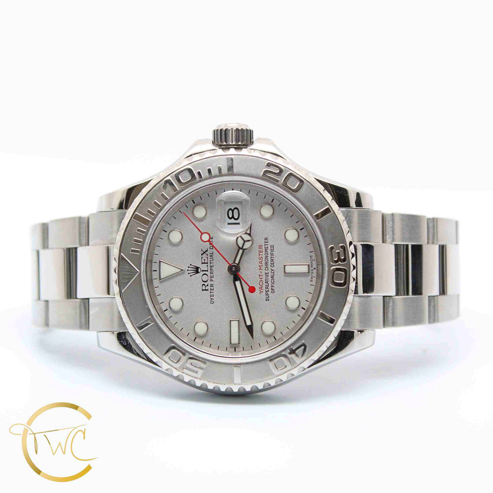 Rolex Yacht-Master Steel/Platinum 40MM 16622 Year 2005 1/2