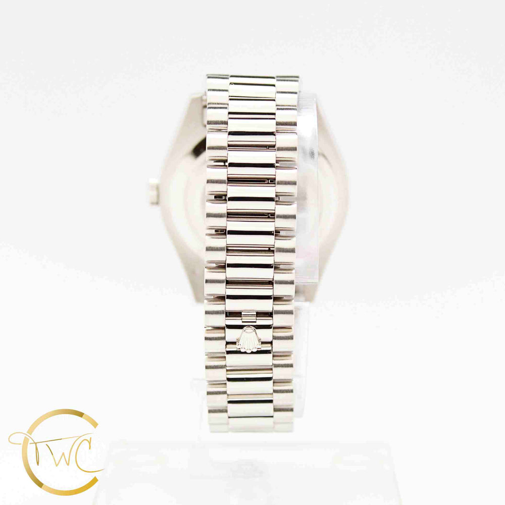 Rolex Day Date II President 18K White Gold 41MM 218239