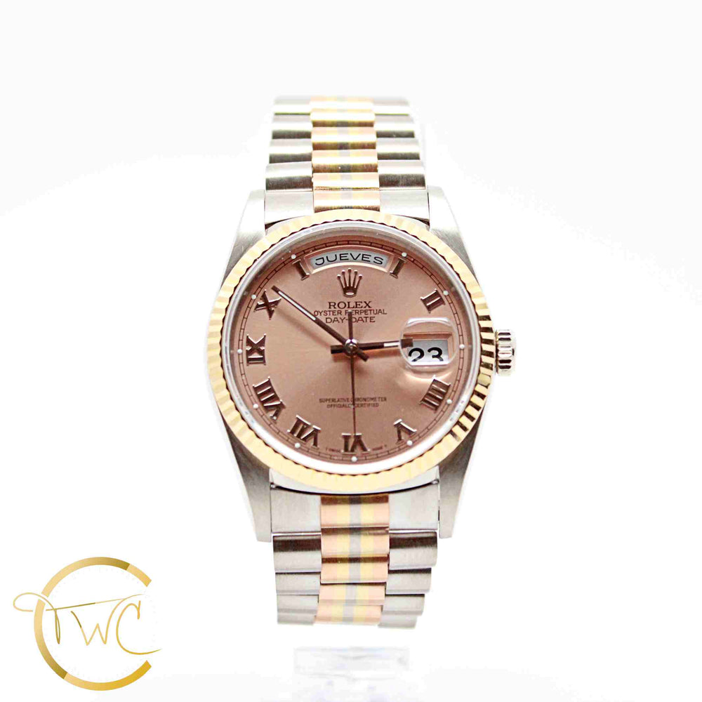 Rolex Day Date Tridor President 36MM 1995 Reference 18239B