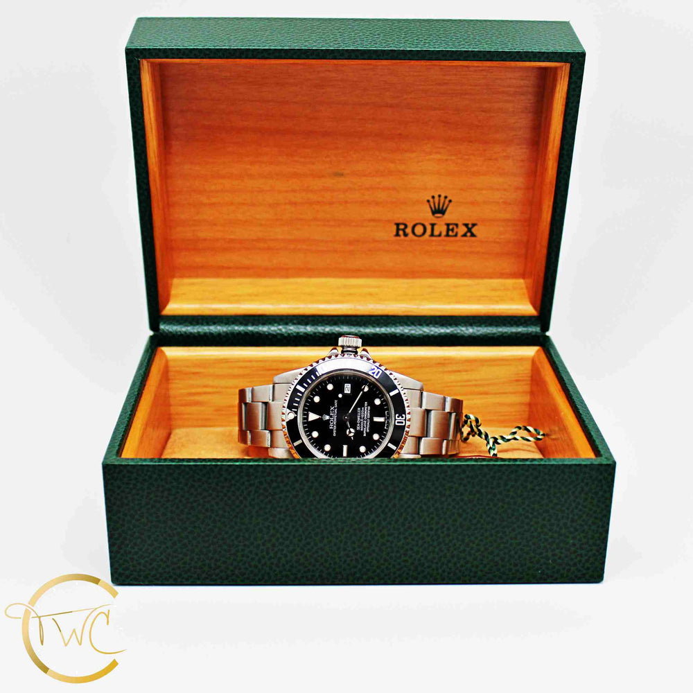 Rolex Sea-Dweller Transitional Time Stainless Steel 1984 Ref 16660