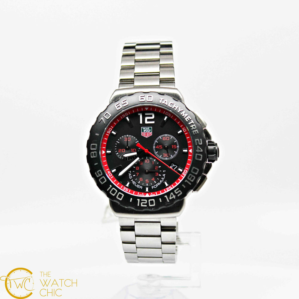 Tag Heuer Chrono Steel 42mm CAU1116.BA0858
