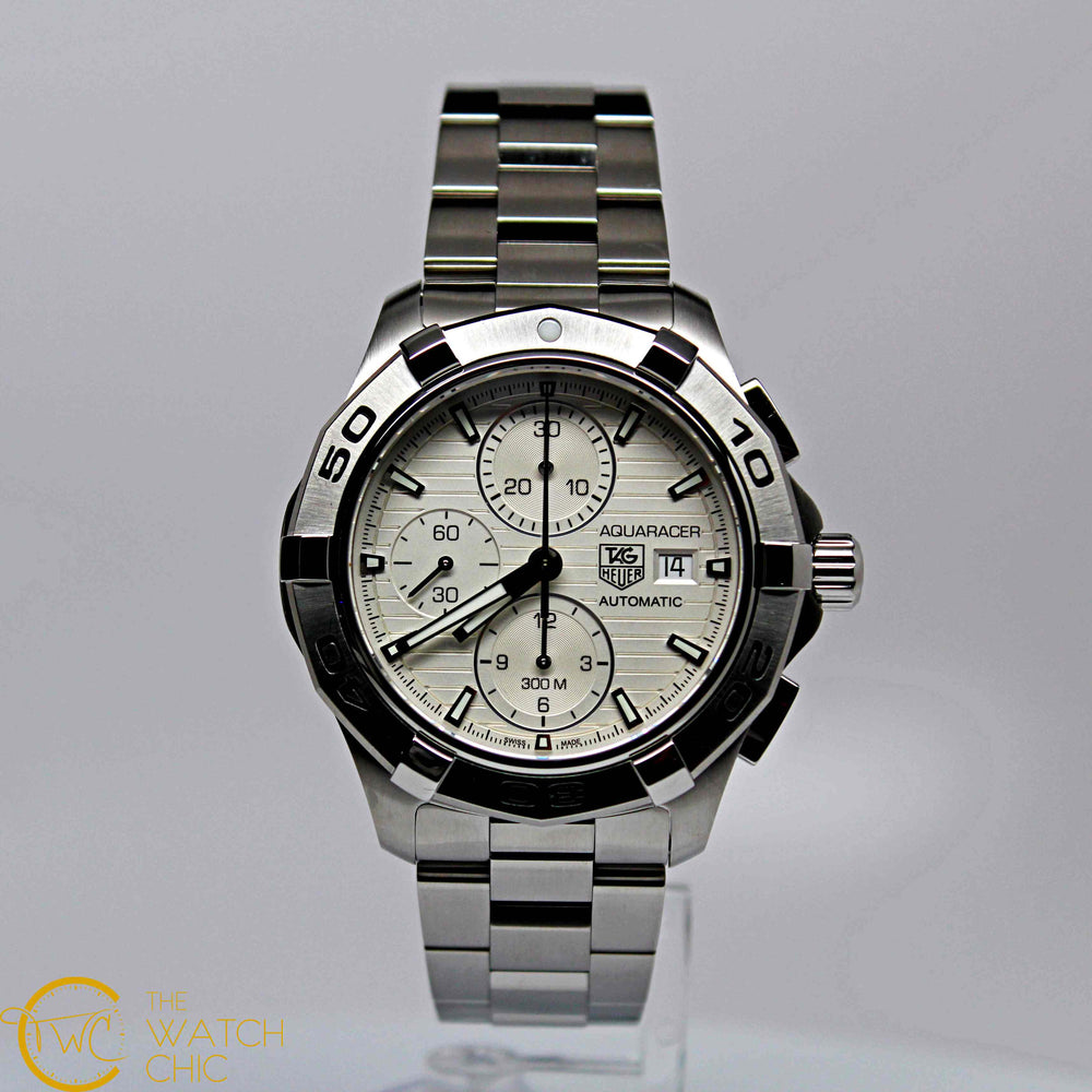 Tag Heuer Auto-Chrono Steel 43mm CAP2111.BA0833