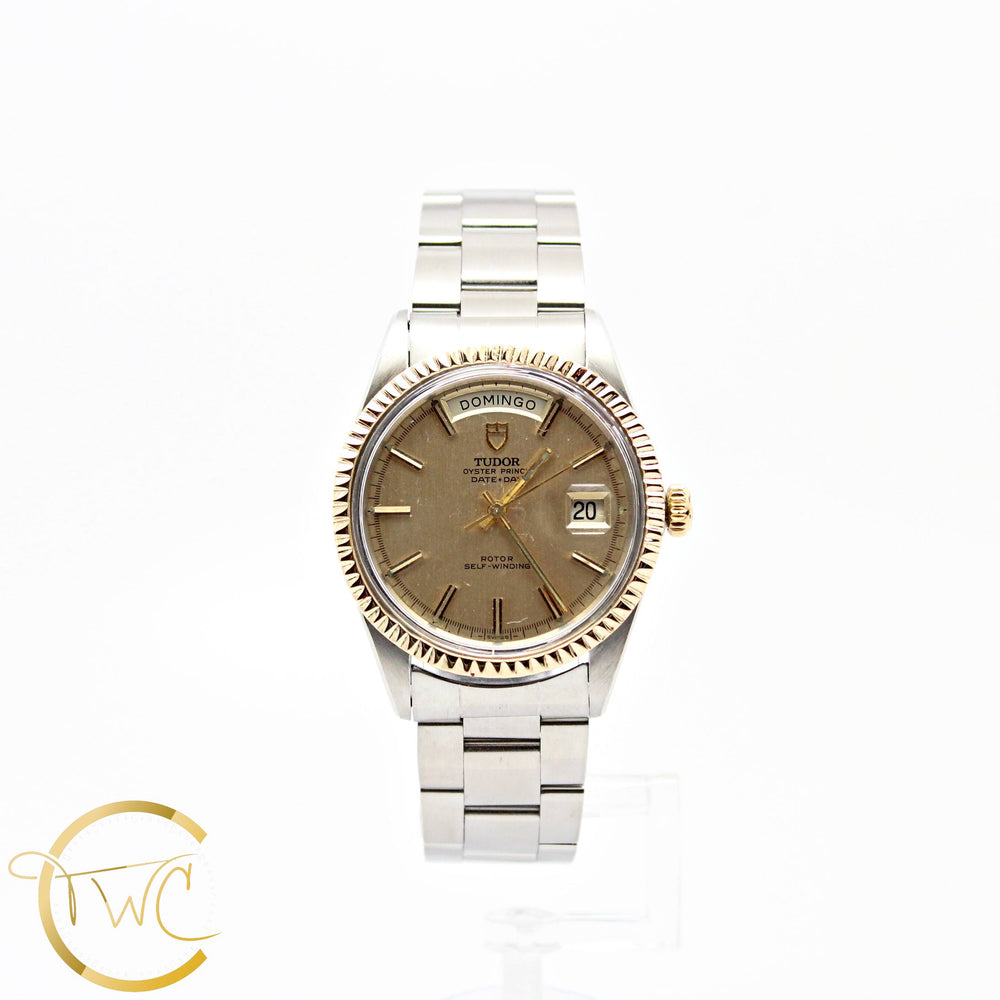 "Tudor President Day-Date 40MM ""Jumbo"" 14K Yellow Gold and Stainless Steel 7019/3"
