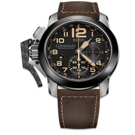 GRAHAM Chronofighter Steel 47MM REF 2CCAC B02A