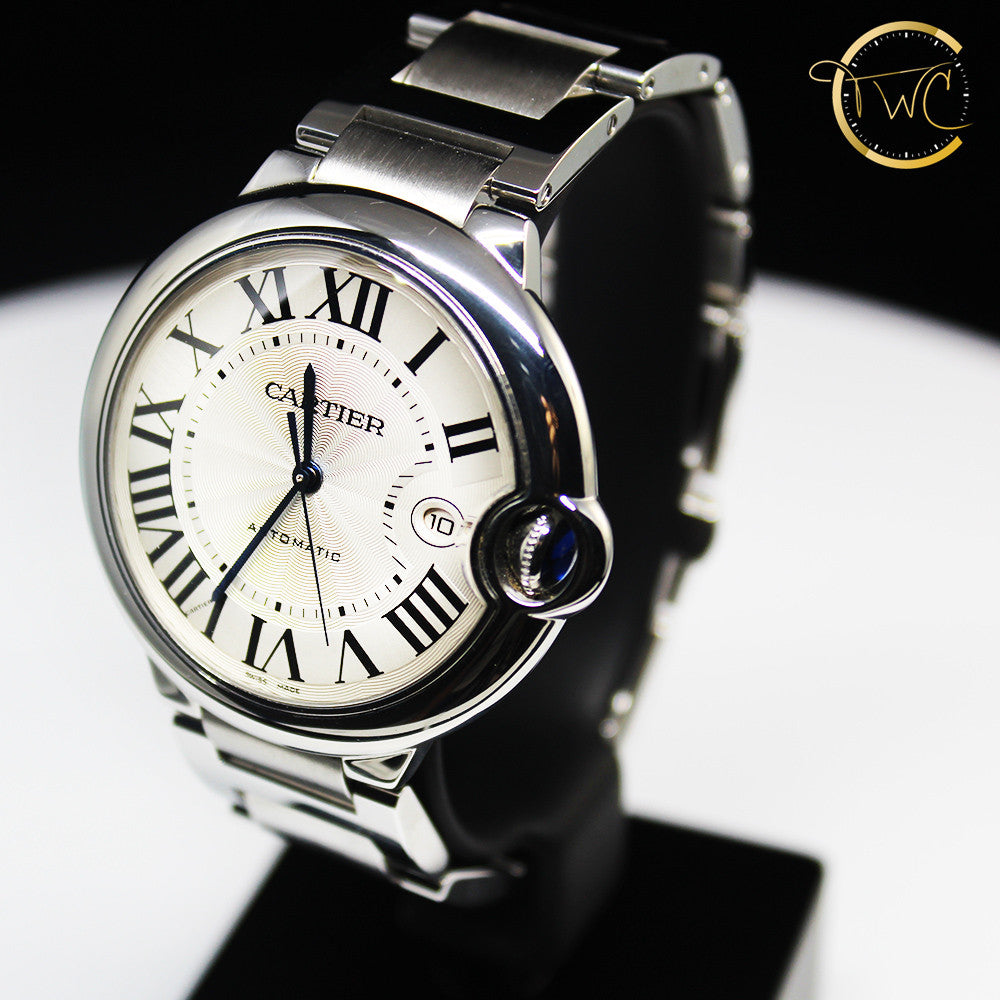 Cartier Ballon Bleu 42mm Stainless Steel W69012Z4