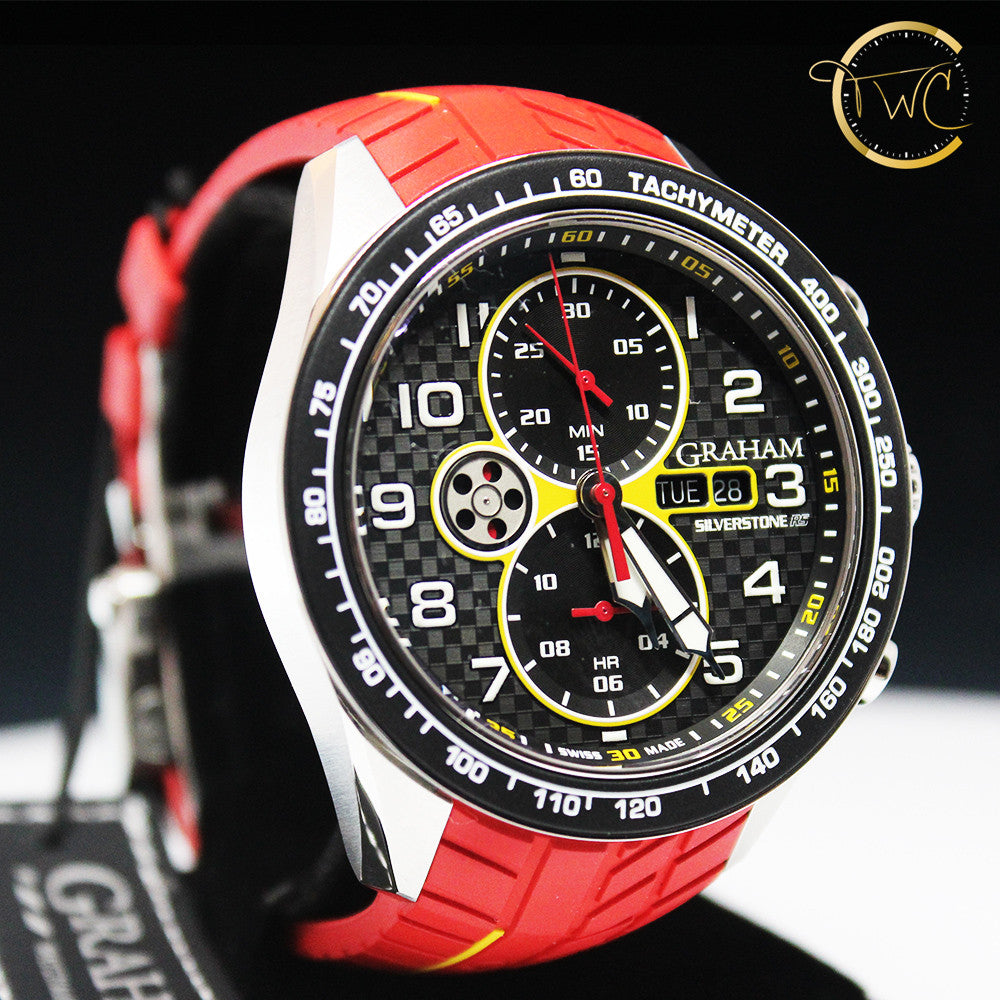 Graham Silverstone RS Racing Chronograph Automatic 2STEA.B15A