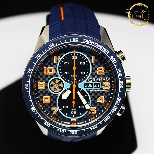Graham Silverstone RS Racing Chronograph Automatic 2STEA.U01A.K106F