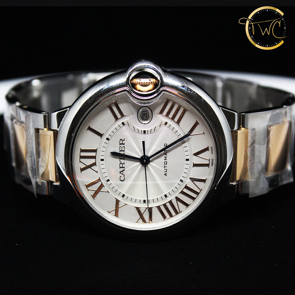 Cartier Ballon Bleu 42mm W6920095 Steel & Rose Gold