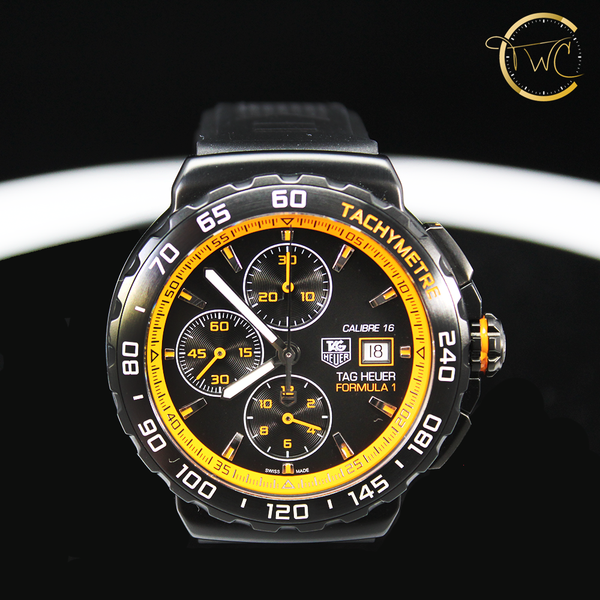 Tag Heuer Formula One Calibre 16 PVD 44mm CAU2012-0