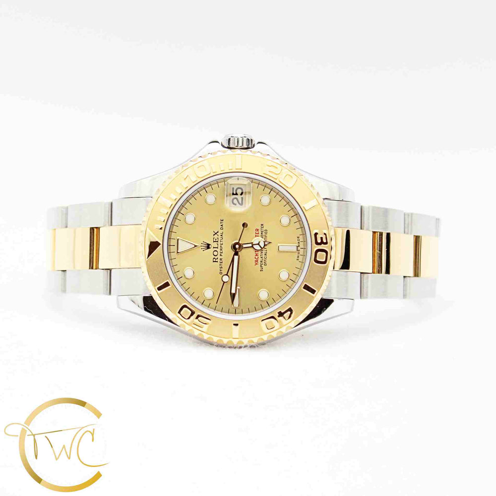 Rolex Yacht Master Stainless Steel and 18K Yellow Gold 35MM 168623