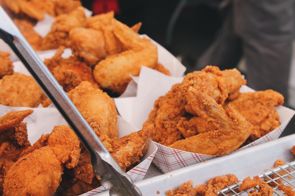 Minettes Fried Chicken, Fried Chicken Wings,