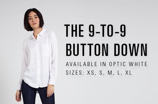 Women's 9-to-9 Button Down Kickstarter