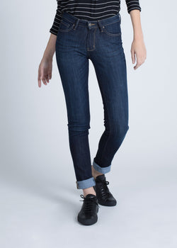 Dish by DUER Adaptive Denim Straight & Narrow - Classic Indigo Jeans Dish