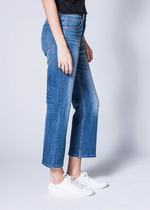 Dish by DUER Adaptive Denim High Rise Straight - Juniper