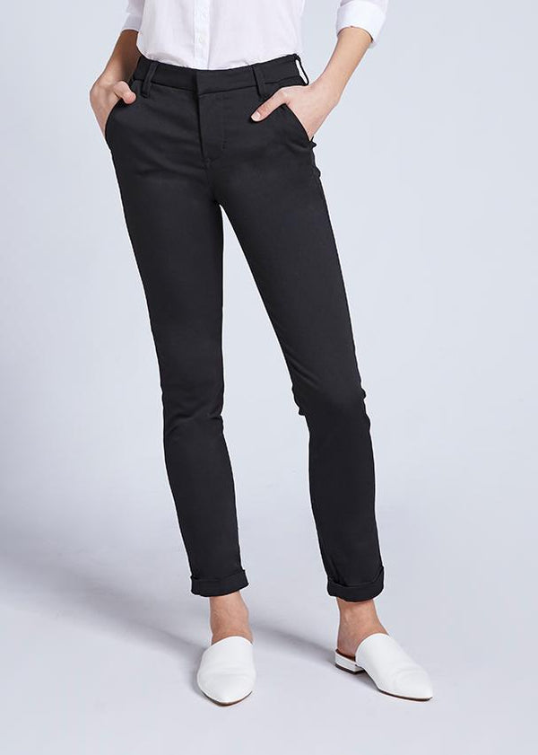 Dish by DUER Never Fade Trouser - Black Pants Dish