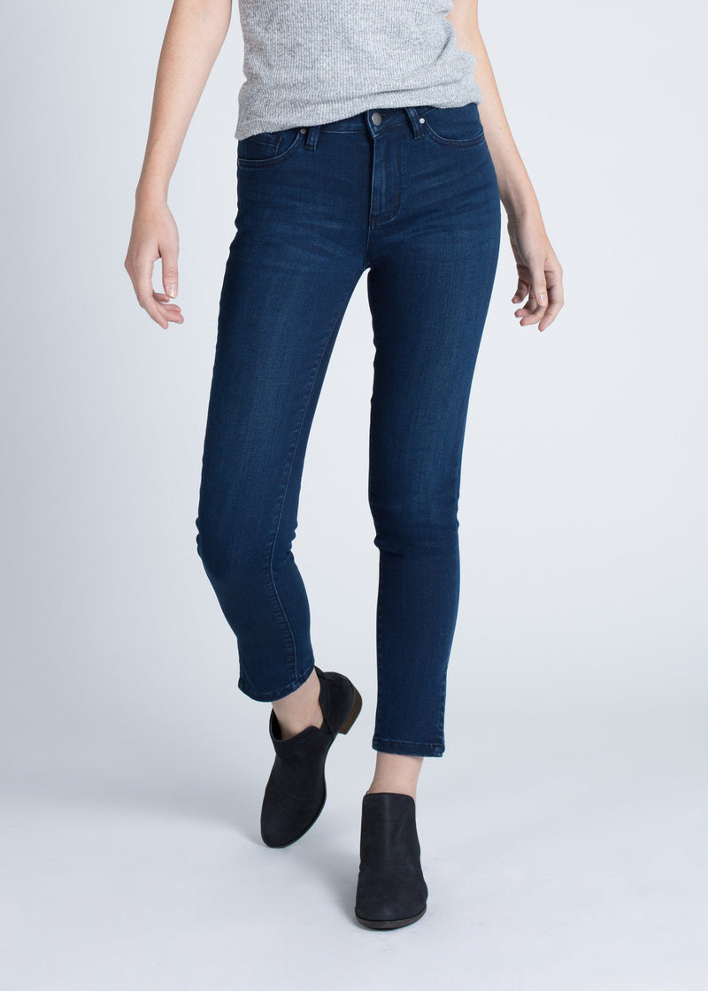 Dish by DUER Adaptive Denim Skinny Side Slit Group Dish