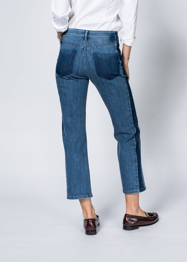 Dish by DUER Adaptive Denim High Rise Straight - Overcast Jeans Dish
