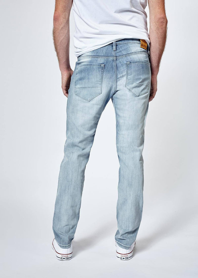 Performance Denim Slim - Super Bleach Jeans Duer