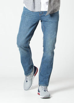 Midweight Performance Denim - Meridian Jeans Duer