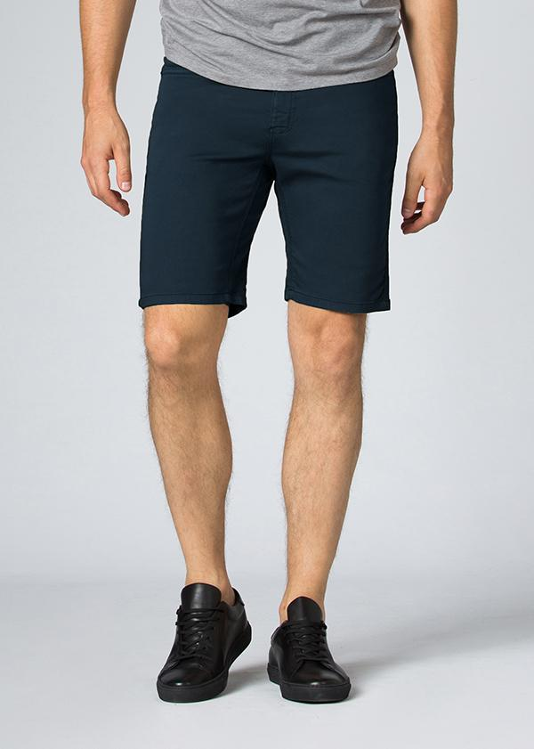 Men's Dark Teal Slim Fit Stretch Short Front