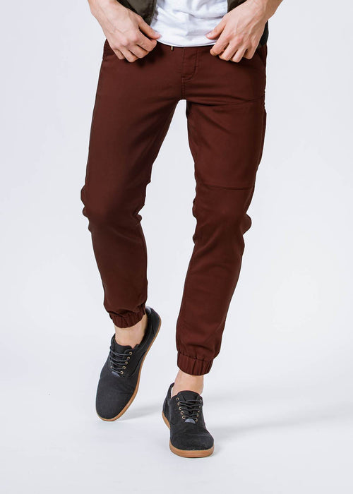 No Sweat Jogger - Oxblood