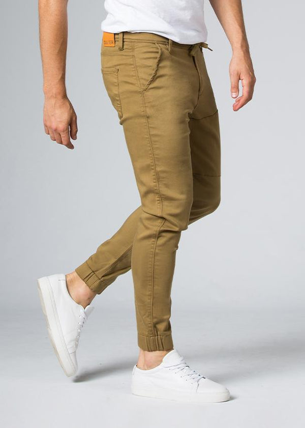 mustard athletic jogger side