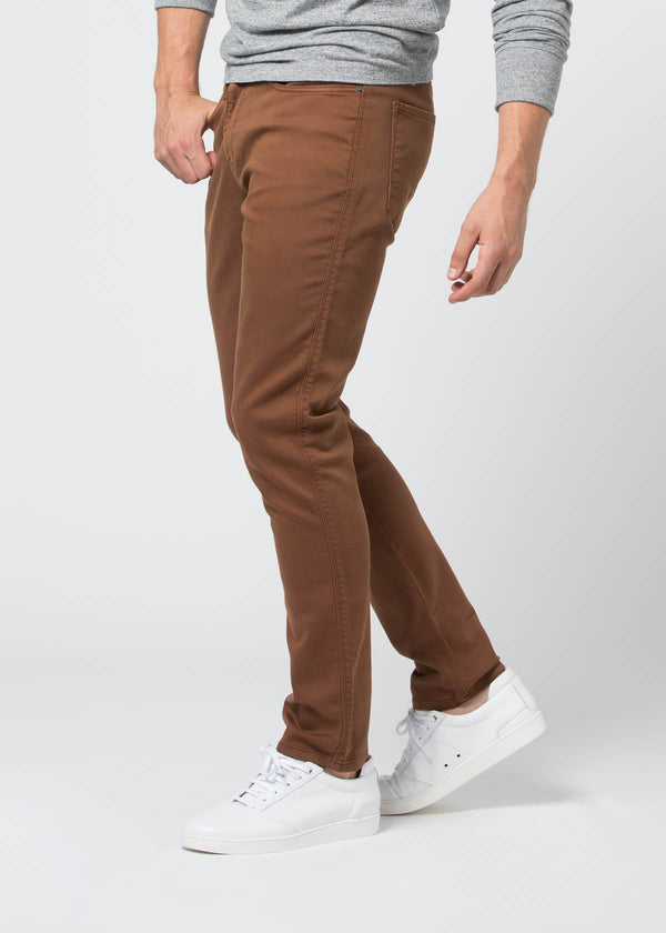 No Sweat Pant Slim - Rust Pants Duer