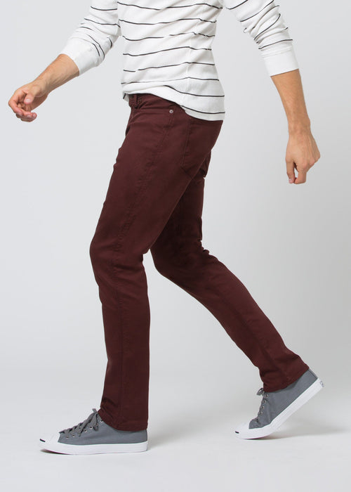 No Sweat Pant Relaxed - Oxblood
