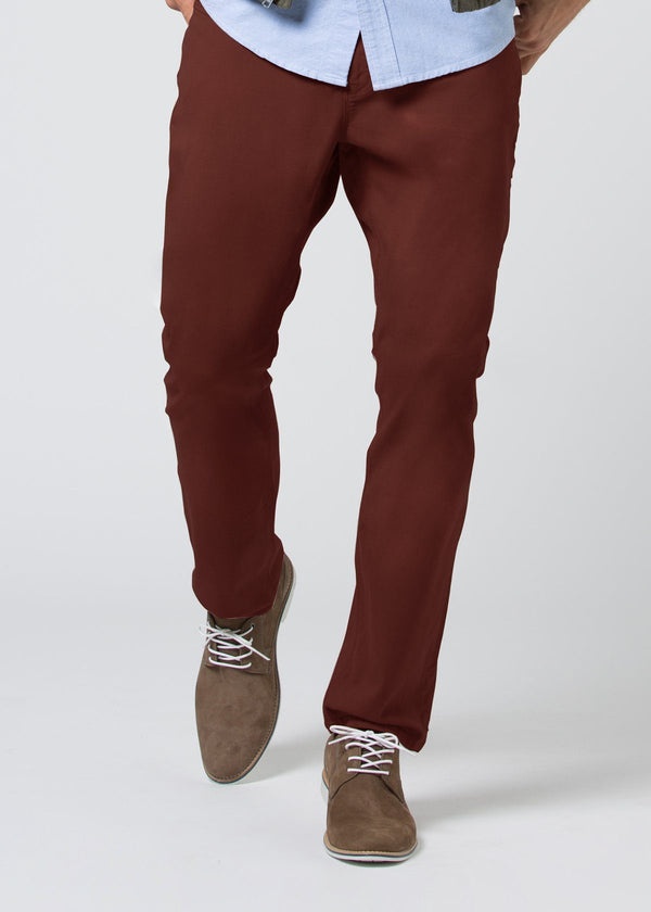 Live Lite Pant Relaxed - Oxblood Pants Duer