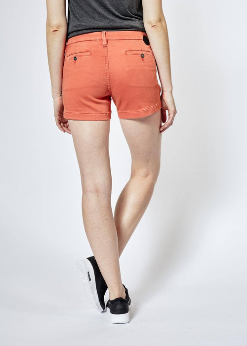Dish by DUER Short - Tangerine