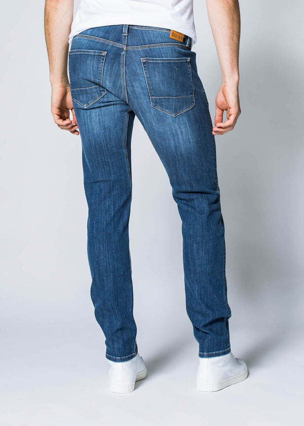 Performance Denim Slim - Worn Stone Jeans Duer