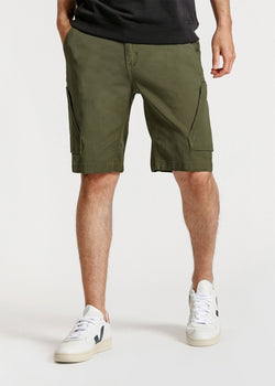 mens green athletic adventure pant front