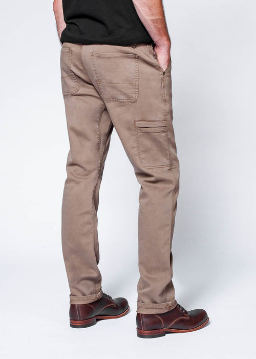 No Sweat Utility Pant Relaxed - Desert Brown