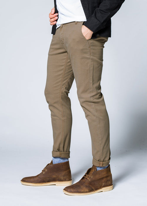 Live Free Chino Pant Slim - New Haven Khaki