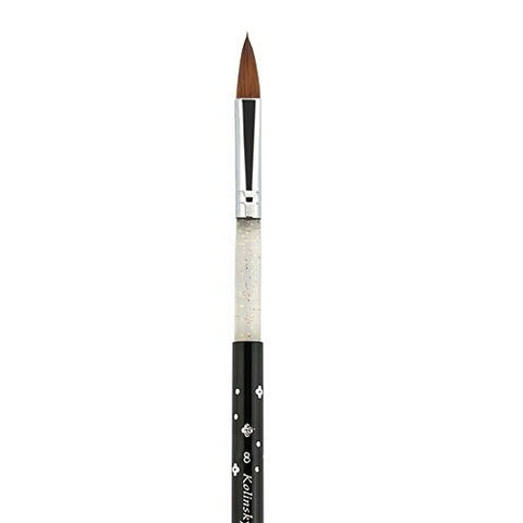 #8 Kolinsky Sable Acrylic Brush - Vroni Nail Art