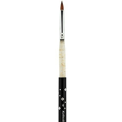 #4 Kolinsky Sable Acrylic Brush - Vroni Nail Art