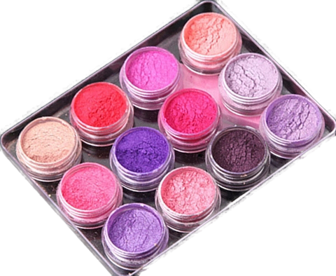 12 piece Gradient Pigment Powder