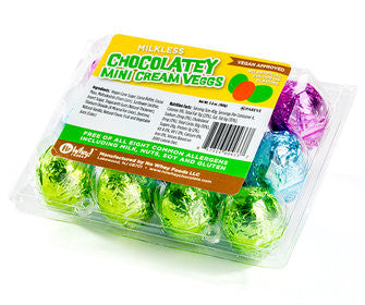 Chocolate Cream Eggs (Allergy-Friendly)