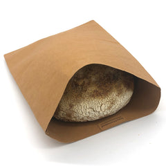 natural clutch / bread bag