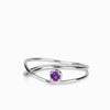 Amethyst Birthstone Ring