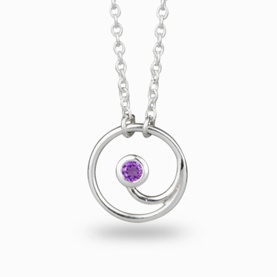 Amethyst Gratitude Necklace
