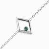 Diamante: Emerald & Diamond Bracelet
