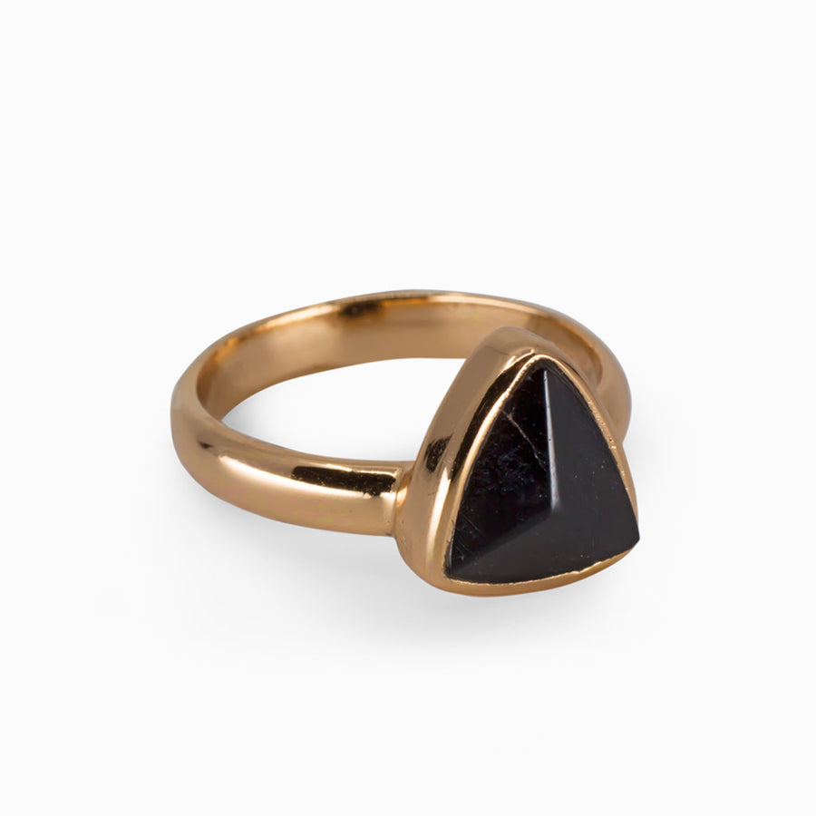Black Tourmaline Ring