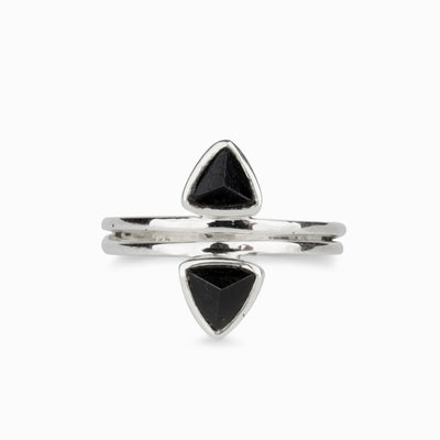 Faceted Black Tourmaline