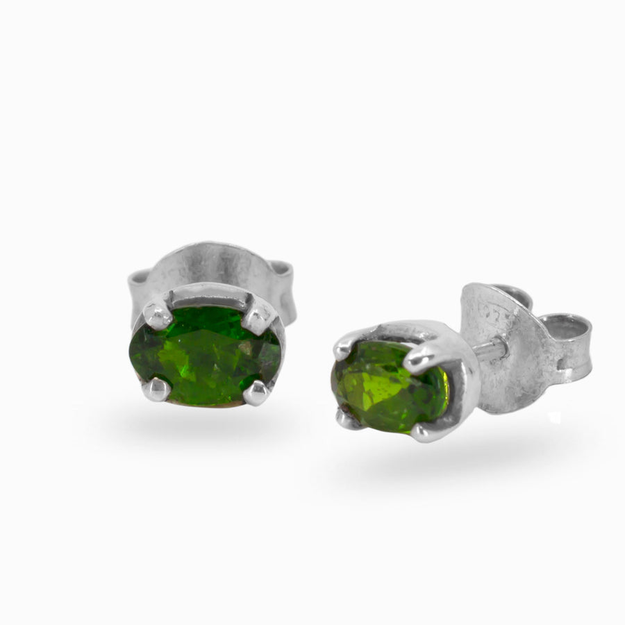 Chrome Diopside Facets