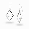 Diamante: Sapphire & Diamond Earrings