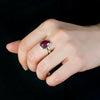Ruby Ring on Model