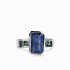 Kyanite & Emerald Ring