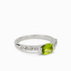 Peridot and White Topaz