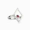 Diamante: Ruby & Diamond Ring